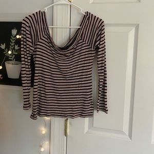 TARGET BRAND striped blouse